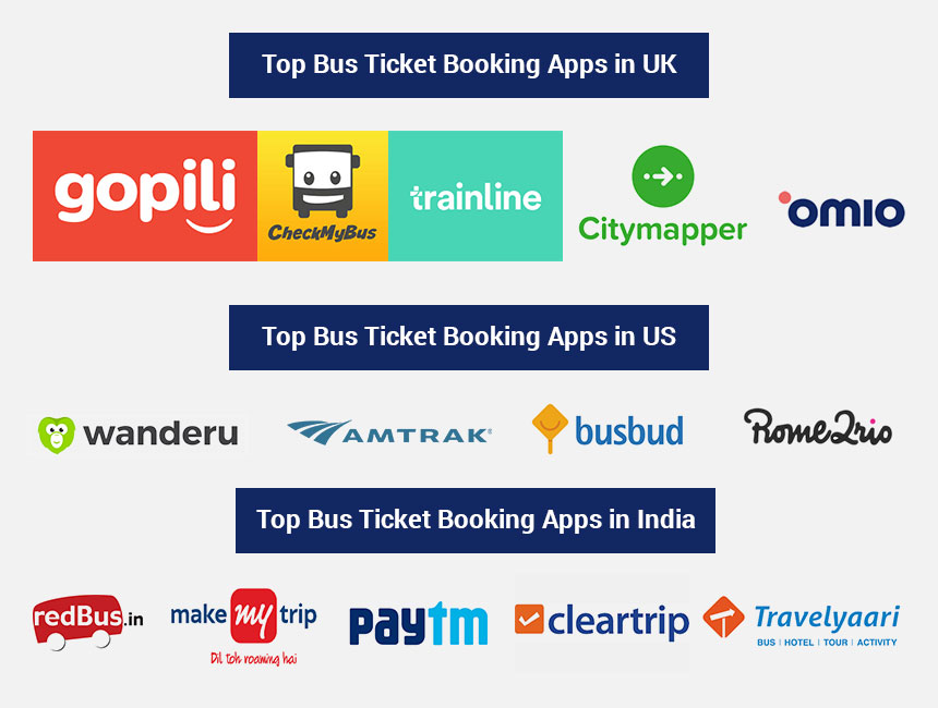top bus ticket booking apps