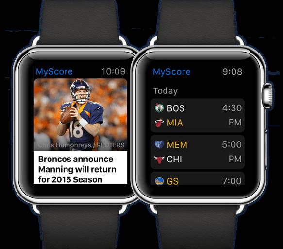 fantasy nfl wearable watch
