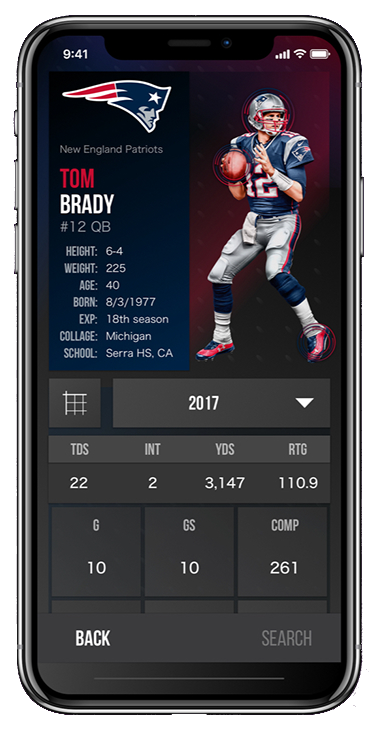 nfl player info