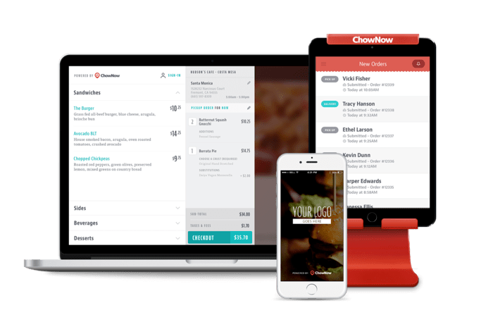features food delivery app