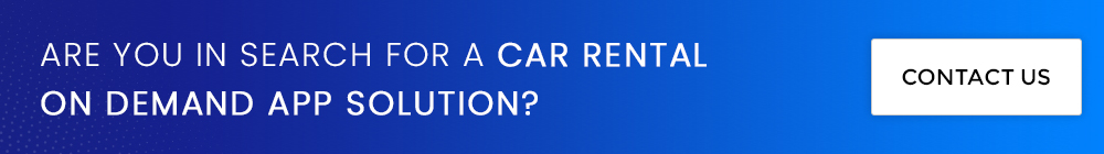 on demand car rental app