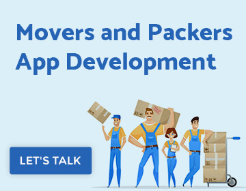 Movers and packers app cost
