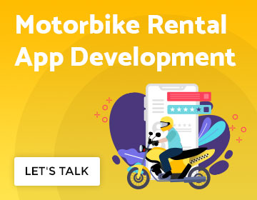 motobike rental app development cost