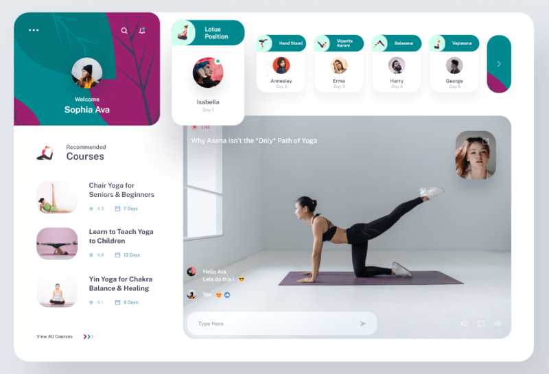 yoga-app-video-streaming-session