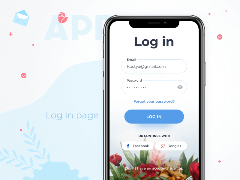 flower delivery mobile app development