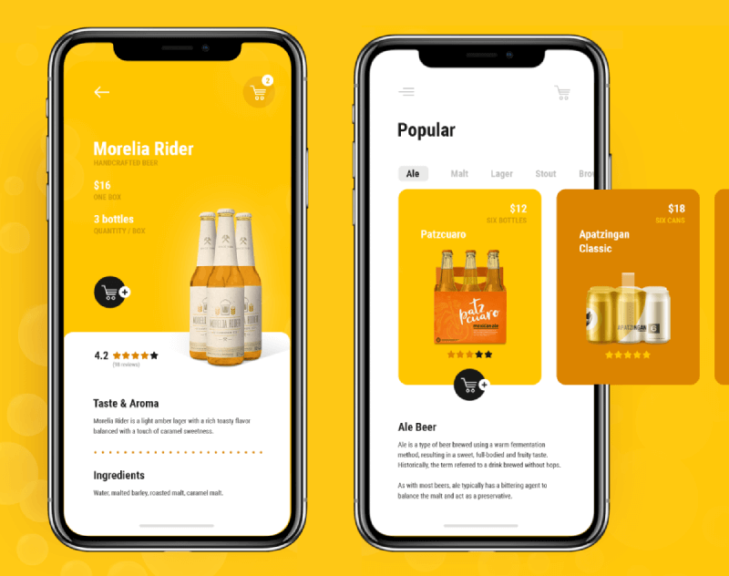 liquor delivery mobile app development