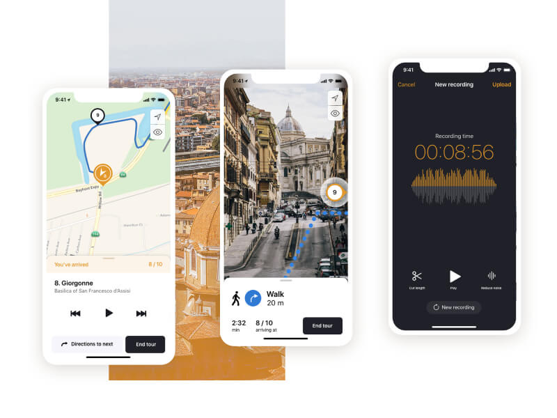 Audio Tour App