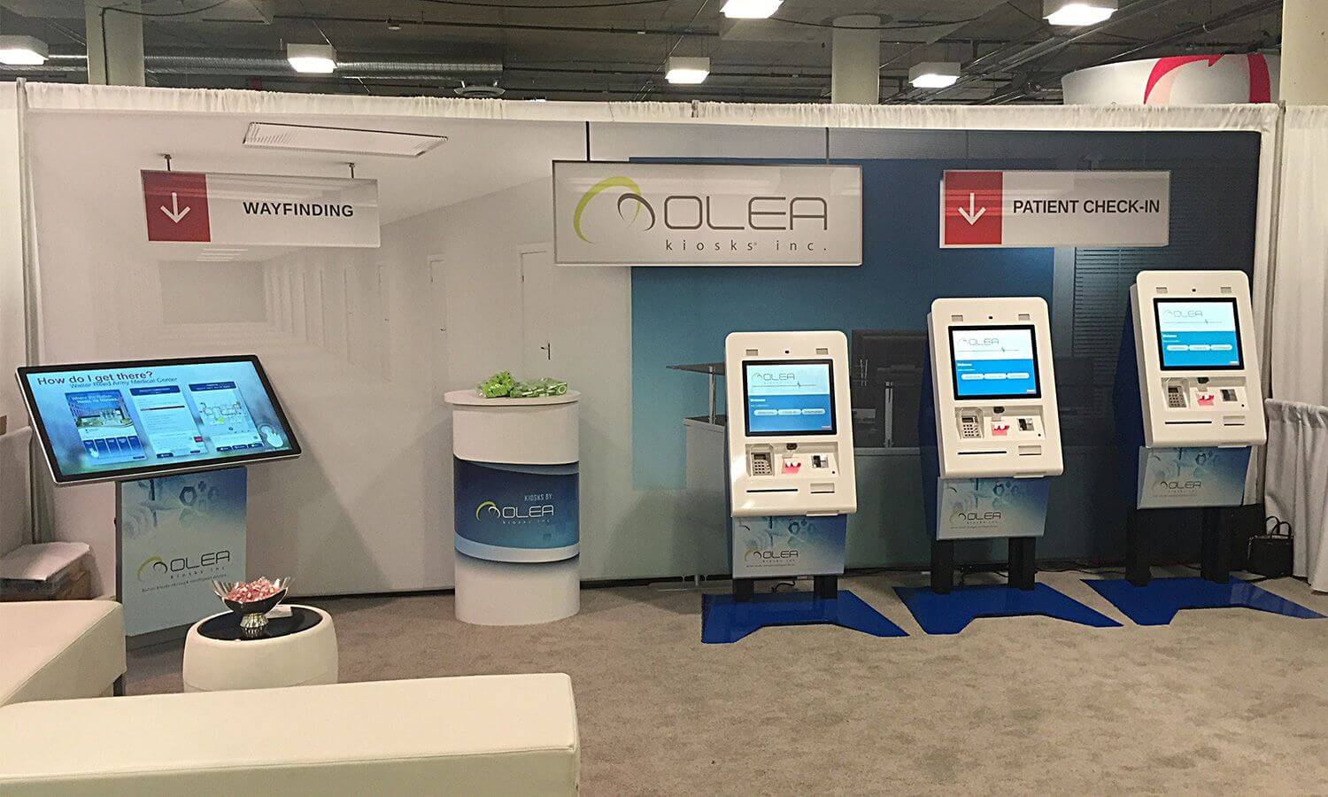 kiosk in healthcare industry