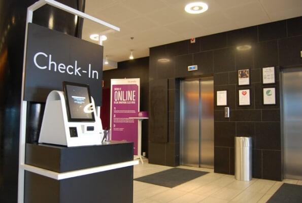 kiosk in hotel industry