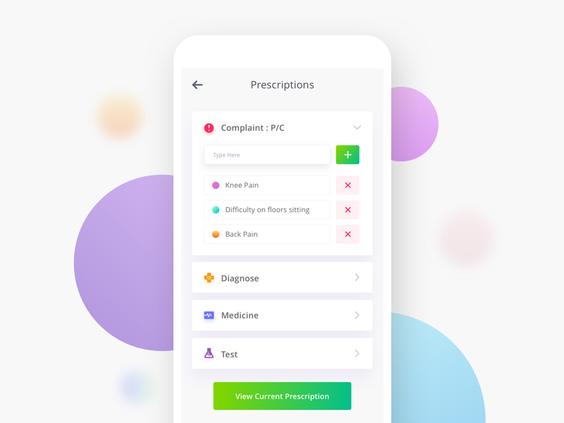 prescription app development