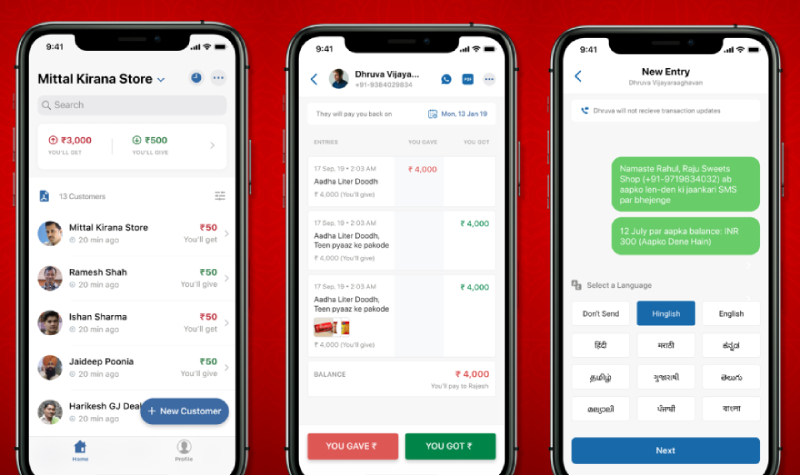 khatabook app development company