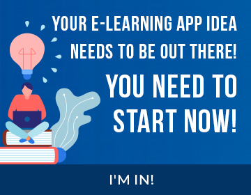 develop elearning app like byjus