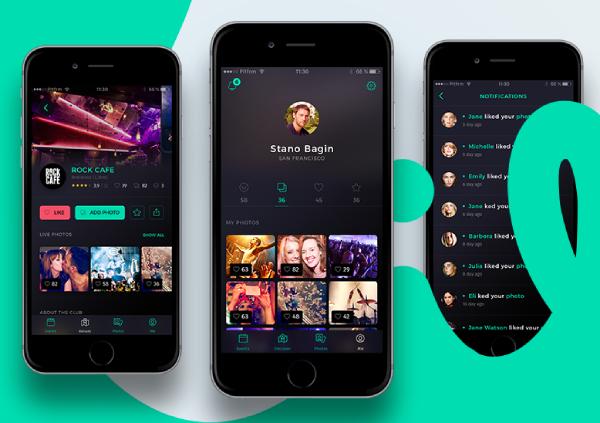 social media in nightlife app development