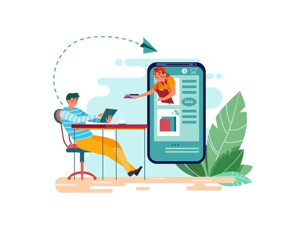 online book sales market size