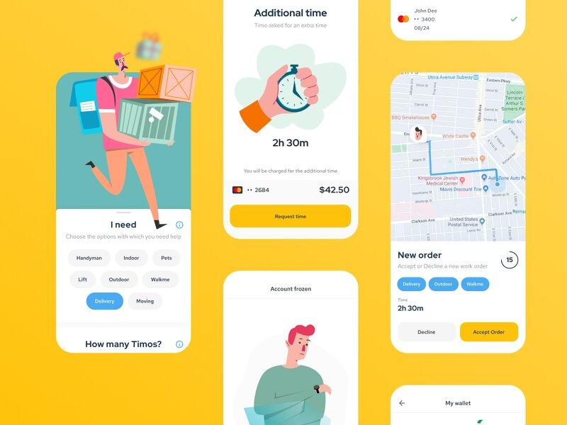 on-demand jobs app