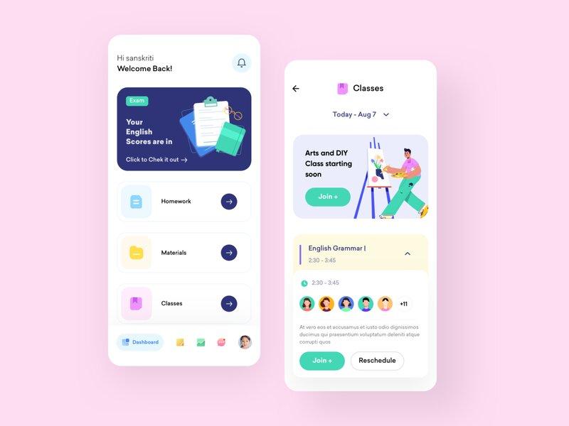 Virtual Classroom App development