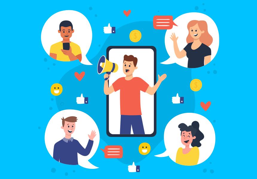 Referral Marketing app